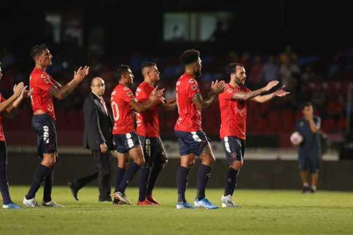 Los aplausos con sorna de los jugadores de Veracruz a sus colegas