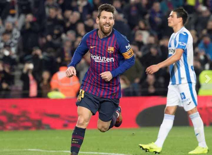 Messi metió el tercero del Barcelona