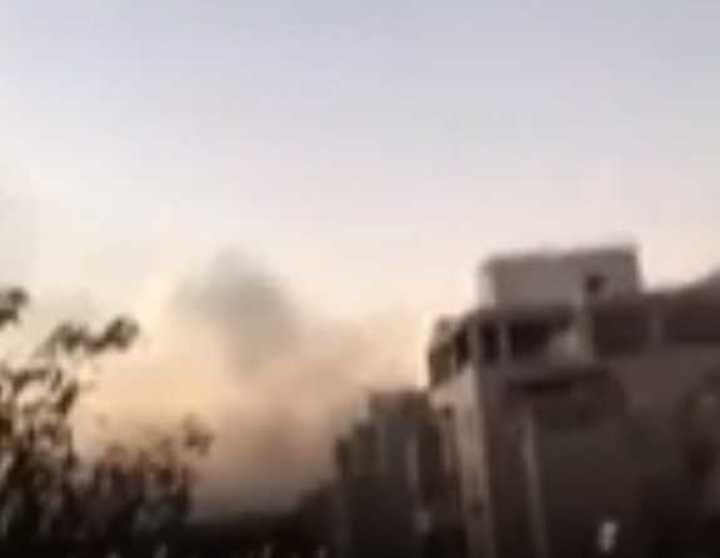 Israel responde al bombardeo