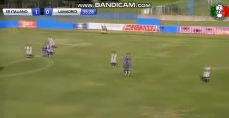 El 2-1 de Italiano a Lamadrid