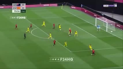 Oyarzabal puso el 1-0 para España contra Australia