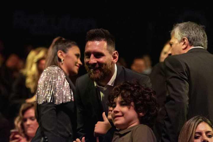 Así vivió Messi el show