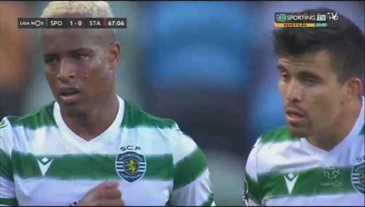 El golazo de Sporting Lisboa a puro toque