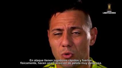 Los jugadores de Flamengo hablan de River