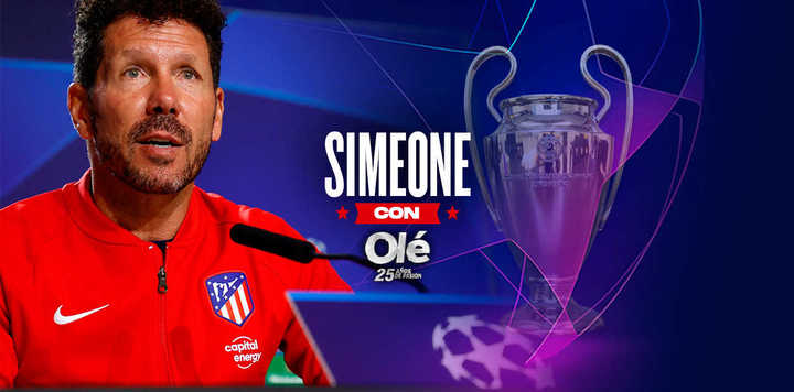 Simeone y el sueño de la Champions