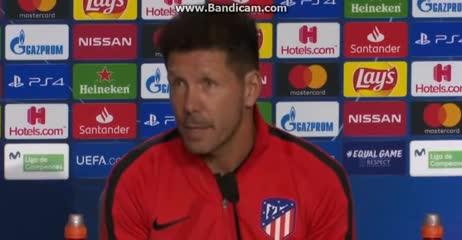 """Simeone: """"Cristiano es un animal del gol"""""""