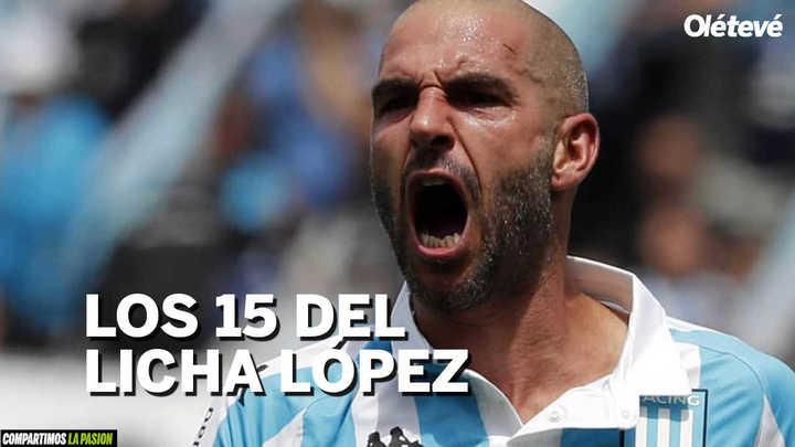 Los 15 gritos de Licha López