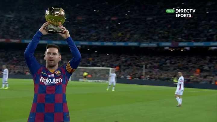 Barcelona se rinde ante Leo