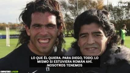 Carles Tevez sobre Maradona