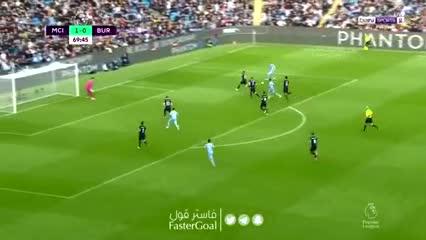 De Bruyne y el 2-0 del Manchester City ante Burnley