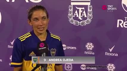 Andrea Ojeda, la goleadora de Boca