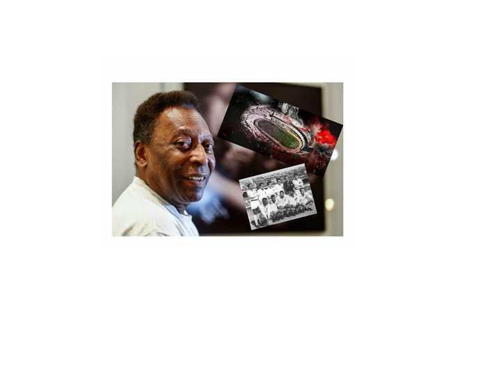 Cuando Pelé marcó dos goles en el Monumental y fue campeón. (fuente: Youtube).