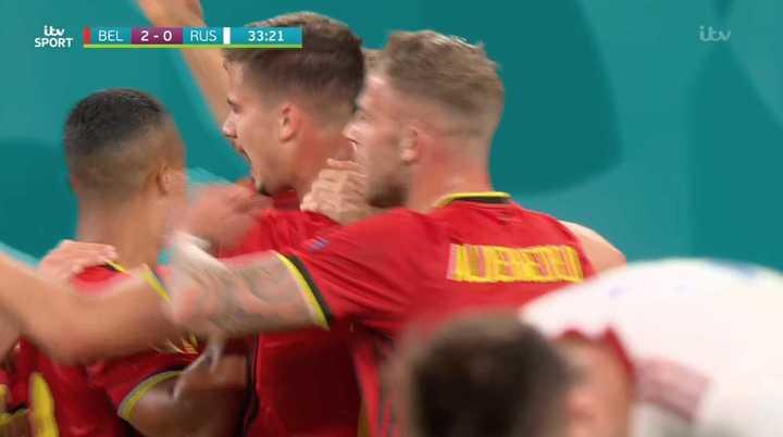 Bélgica convirtió el segundo
