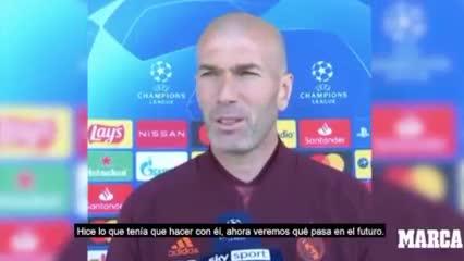 Zidane sobre el regreso de Cristiano: