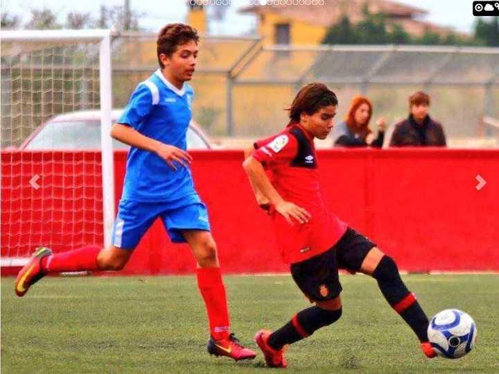 Así juega Luka Romero