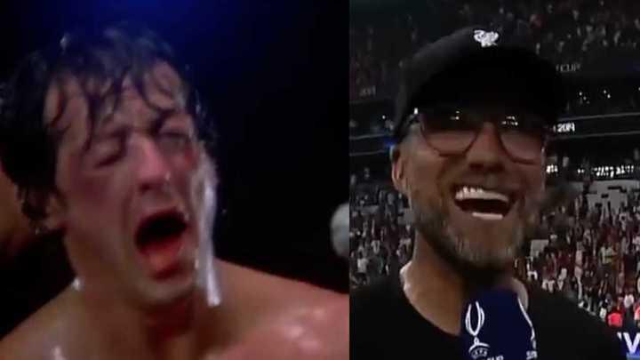 Klopp a lo Rocky Balboa