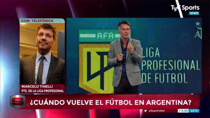 """Marcelo Tinelli: """"Tenemos todo armado para volver el 16 o el 23"""""""