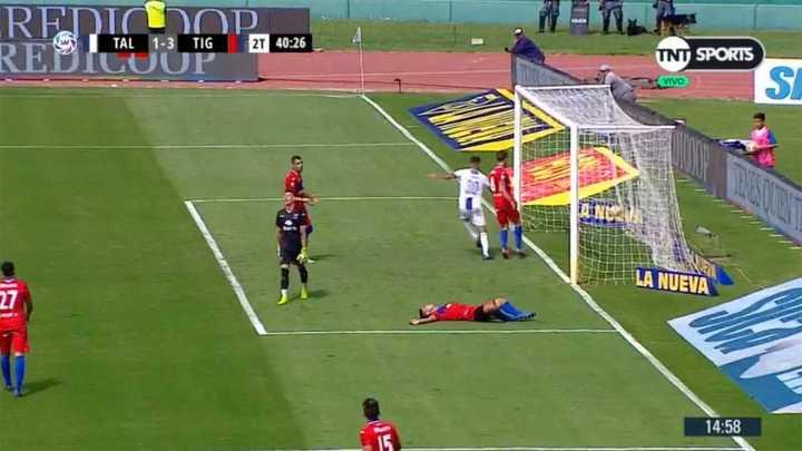 Talleres descontó por gol en contra de Moiraghi
