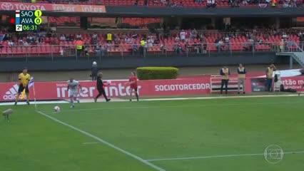 Gol de Arboleda a Avaí