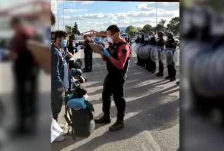 Los hinchas del DIM en su odisea en Argentina