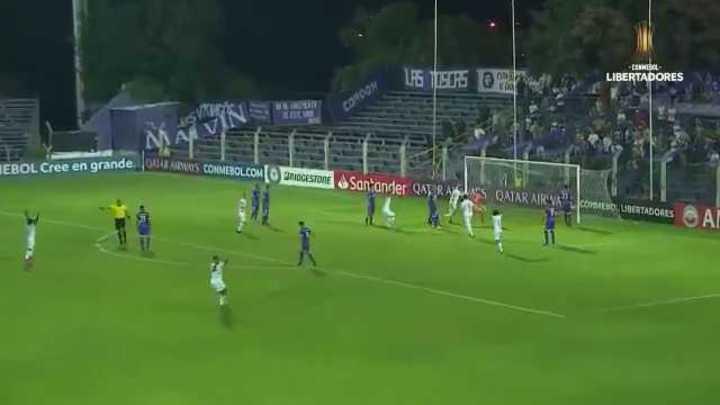 El 1 a 0 de Atlético Mineiro