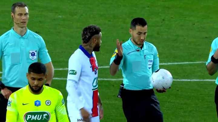 La amarilla a Neymar que lo deja sin final de Copa de Francia