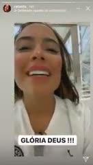 La emoción de la hermana de Neymar