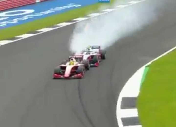 El toque involucró a Mick Schumacher en F2