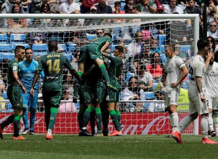 El Betis no tuvo compasión del Real Madrid