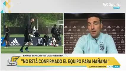 """Scaloni: """"El 99% del equipo será el mismo que ganó la Copa América"""""""