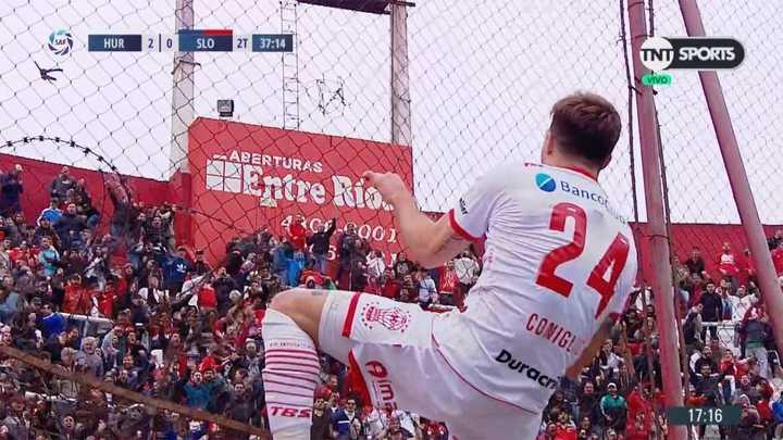 Coniglio marcó el segundo del Globo