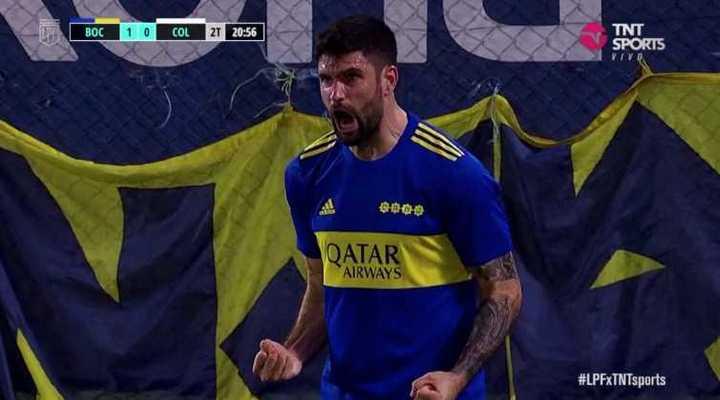 Orsini clavó el primero de Boca