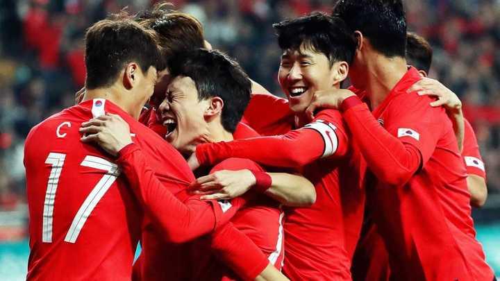 Corea le ganó a Colombia por 2 a 1