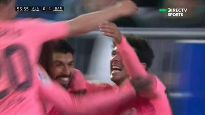 Aleñá marcó el primero de Barcelona