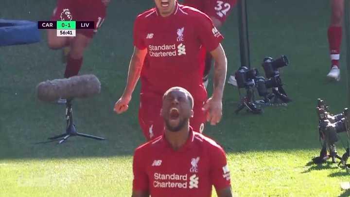 El Liverpool ganó 2 a 0 en su visita al Cardiff