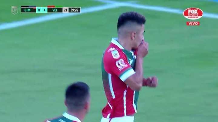 Almada convirtió el 5-0