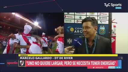 """Gallardo: """"No es fácil cantar ante 70 mil personas"""""""
