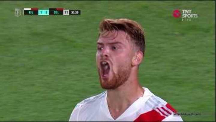 Beltrán marcó el 1 a 0