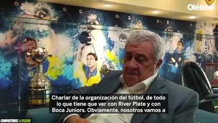 Jorge Amor Ameal le contó a Olé sobre su encuentro con D'Onofrio