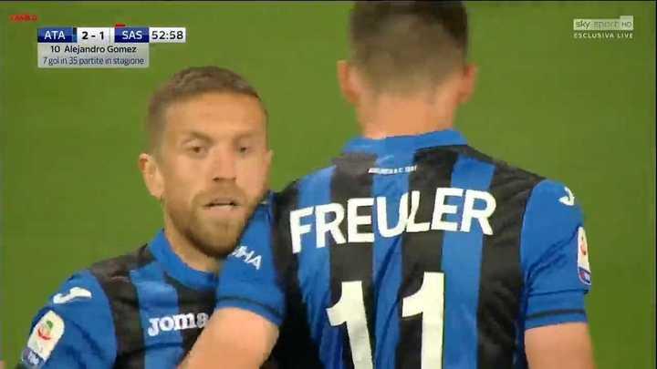 El gol del Papu Gómez para el Atalanta