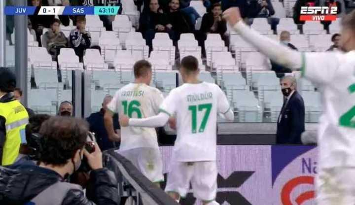 Los goles de Juventus 1 - Sassuolo 2