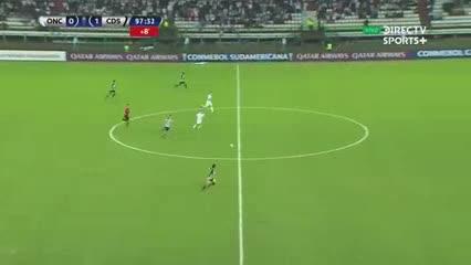 ¡Imitó al Pity en la Sudamericana!