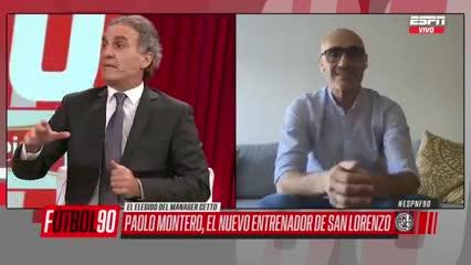 Ruggeri recordó la etapa de Montero como jugador en San Lorenzo