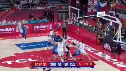 Lo mejor de Serbia 90-Checa 91 por el 5° puesto