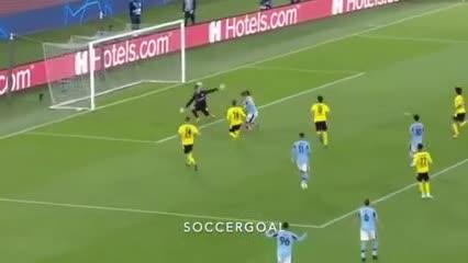 Asistencia de Joaquín Correa en el gol de Lazio