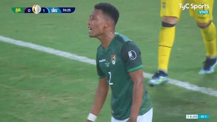 Quinteros en contra le da el 1 a 0 a Uruguay