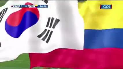 El primer gol de Corea