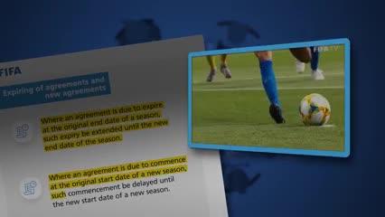 Las nuevas normas de la FIFA por el Covid-19