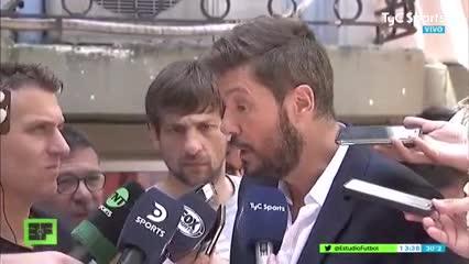 Tinelli habló sobre la llegada de Pipo Gorosito