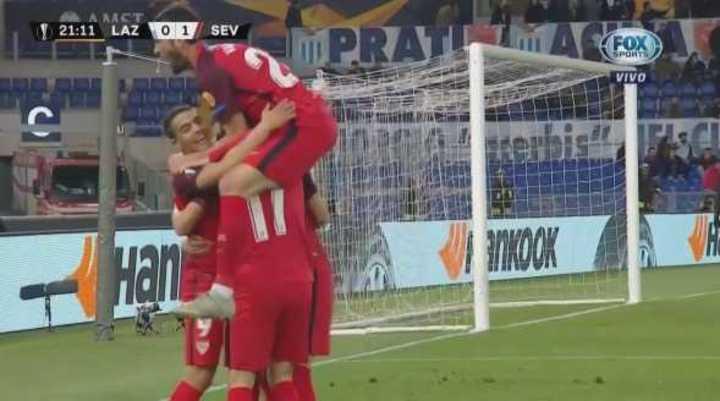 Ben Yedder marcó el gol del Sevilla